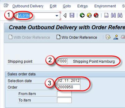 Create Picking, Packing & PGI (Post Goods Issue): SAP LT03 ...